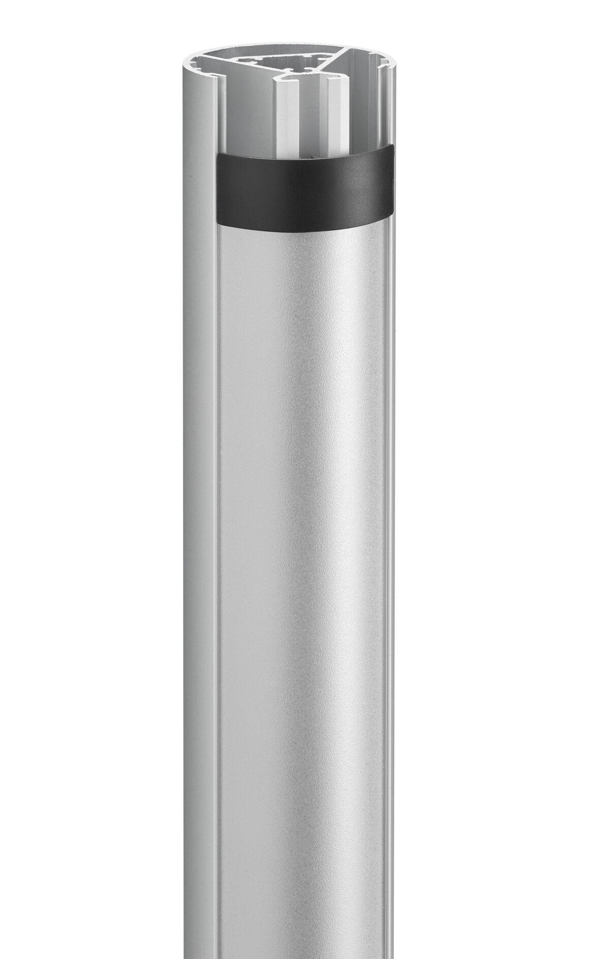 Vogel's PUC 2430 Tube 300 cm, silver - Detail