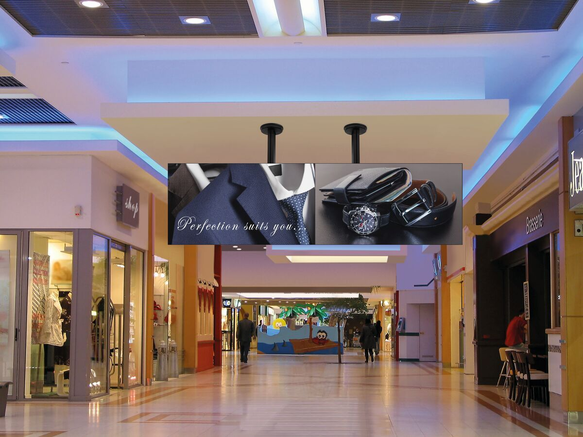 Vogel's CVW3355 Video wall ceiling solution 3x3 - Ambiance