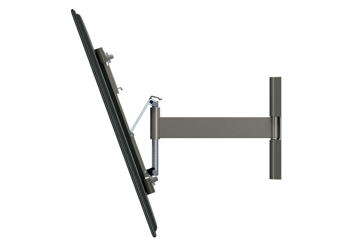 Vogel's THIN 325 UltraThin Full-Motion TV Wall Mount - Suitable for 40 up to 65 inch TVs - Motion (up to 120°) - Tilt up to 20° - Side view