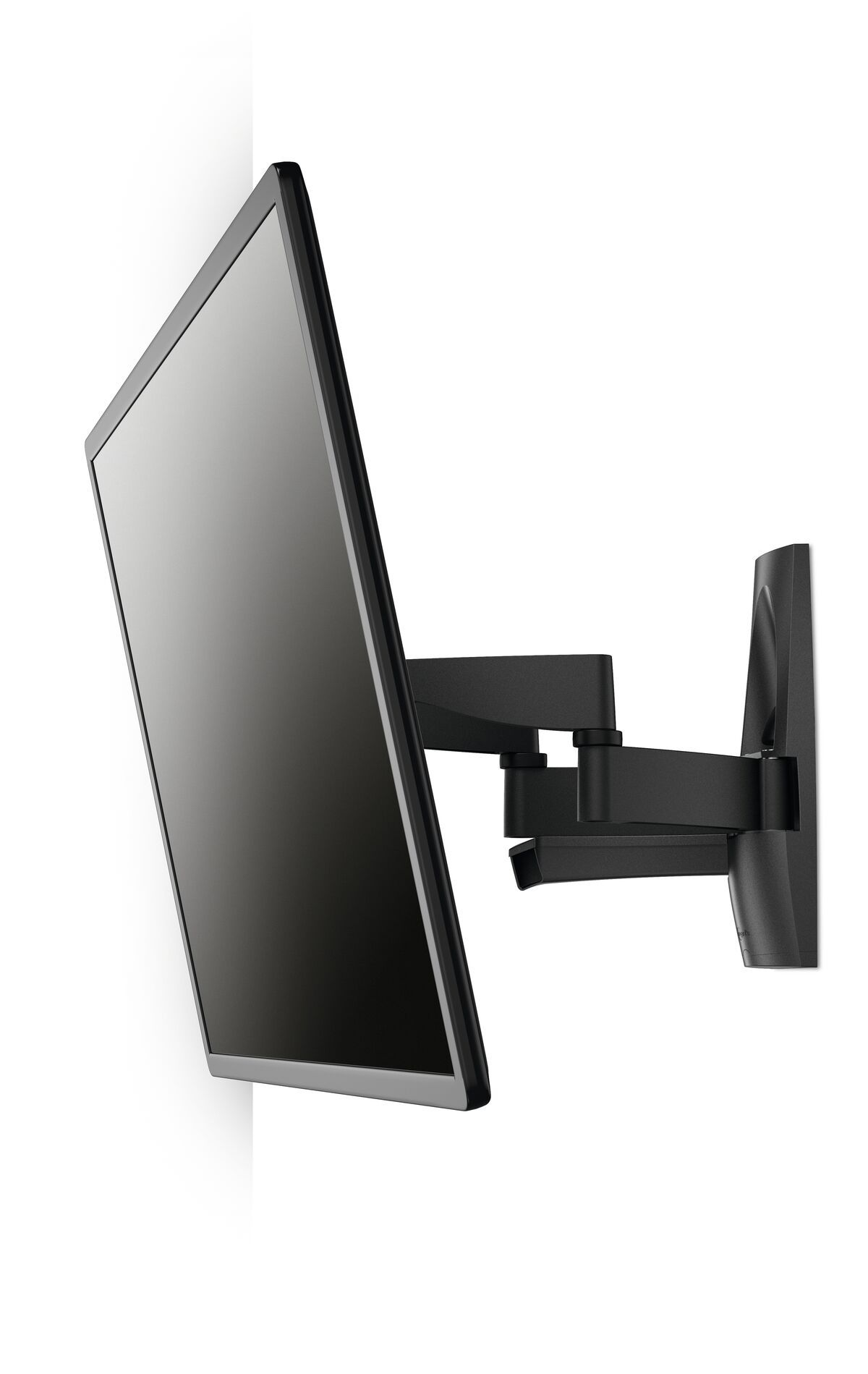 Vogel's WALL 3250 Full-Motion TV Wall Mount - Suitable for Forward and turning motion (up to 120°) - Suitable for Tilt up to 15° - Suitable for White wall