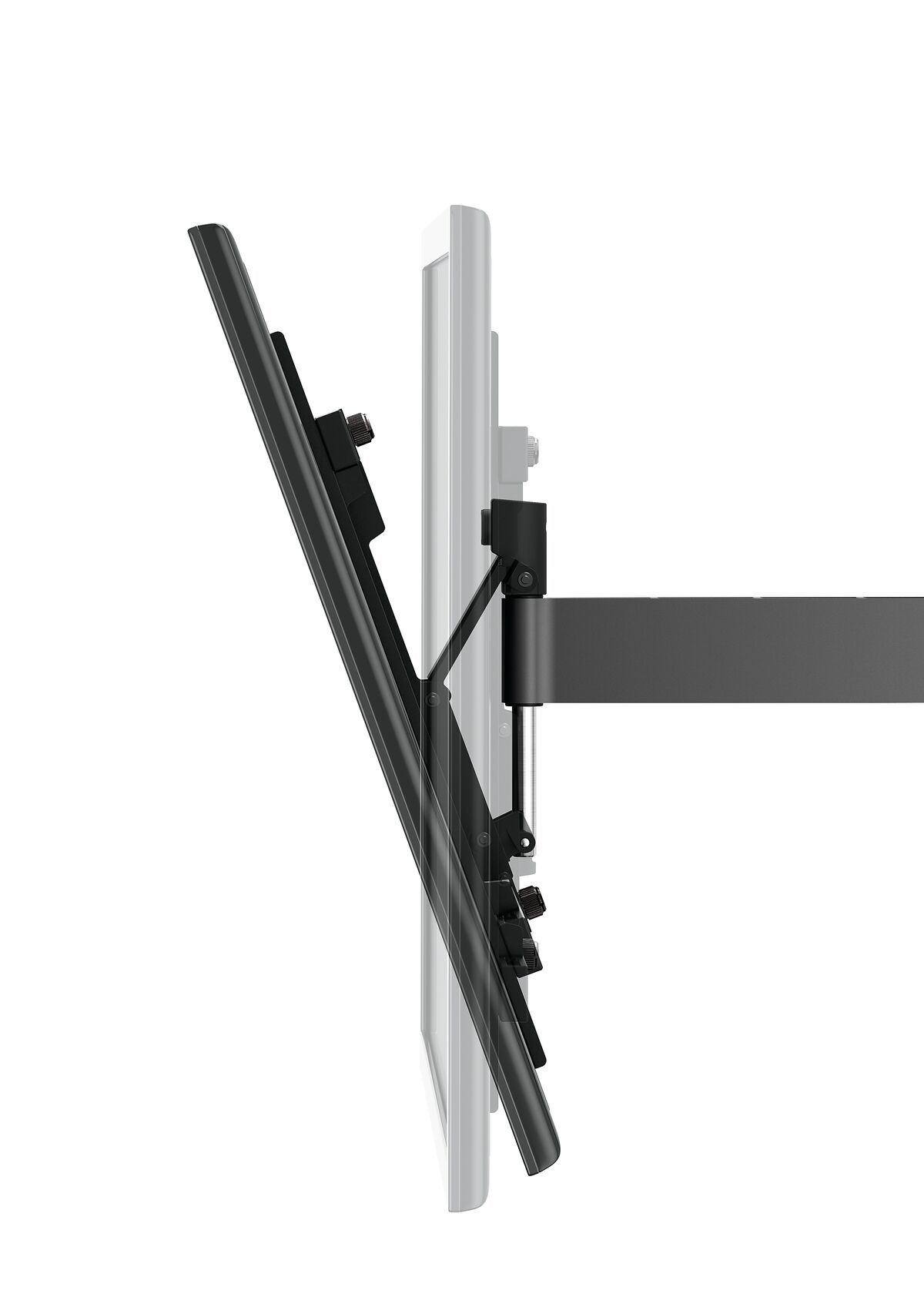 Vogel's WALL 2225 Full-Motion TV Wall Mount (white) - Suitable for 32 up to 55 inch TVs - Motion (up to 120°) - Tilt up to 20° - Detail