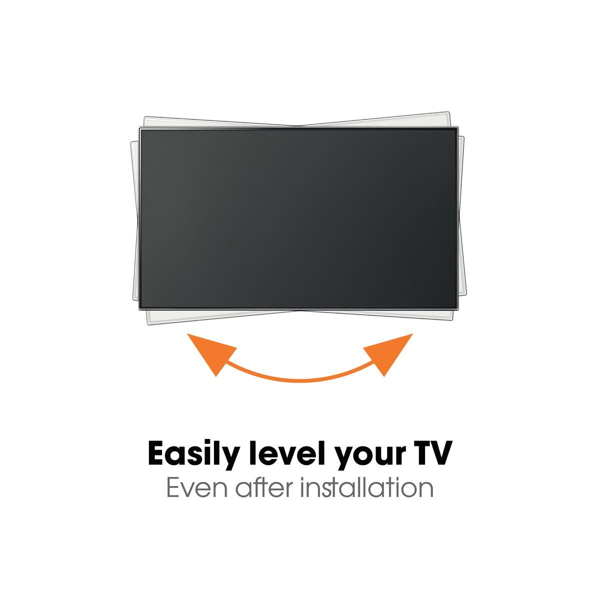 Vogel's WALL 3145 Full-Motion TV Wall Mount (white) - Suitable for 19 up to 43 inch TVs - Full motion (up to 180°) - Tilt -10°/+10° - USP