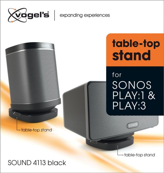 Vogel's SOUND 4113 Table-top Speaker Stand for Sonos One & Play:1