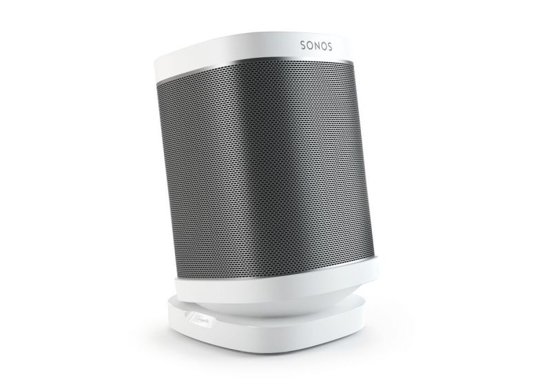 Vogel's SOUND 4113 Supporto da tavolo per Sonos One & Play:1, Play:3 (bianco) - Application
