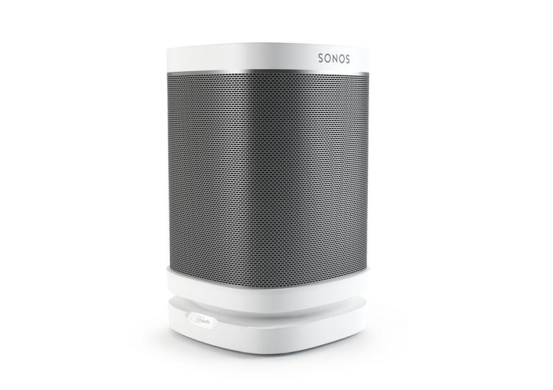 Vogel's SOUND 4113 Support de table pour Sonos One & Play:1, Play:3 (blanc) - Application