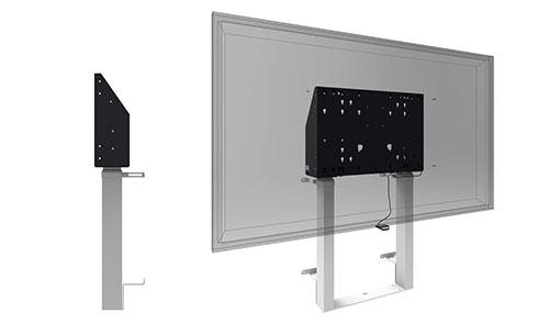Elektrisch verstellbarer Wand-Boden-Halter für interaktive Whiteboards | Vogel's