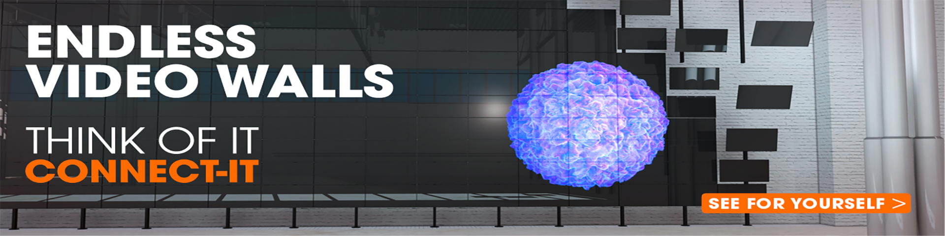 Connect-it universal video wall solutions