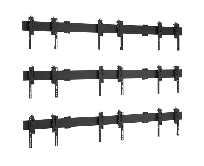 Universal video wall wallmount 3x3