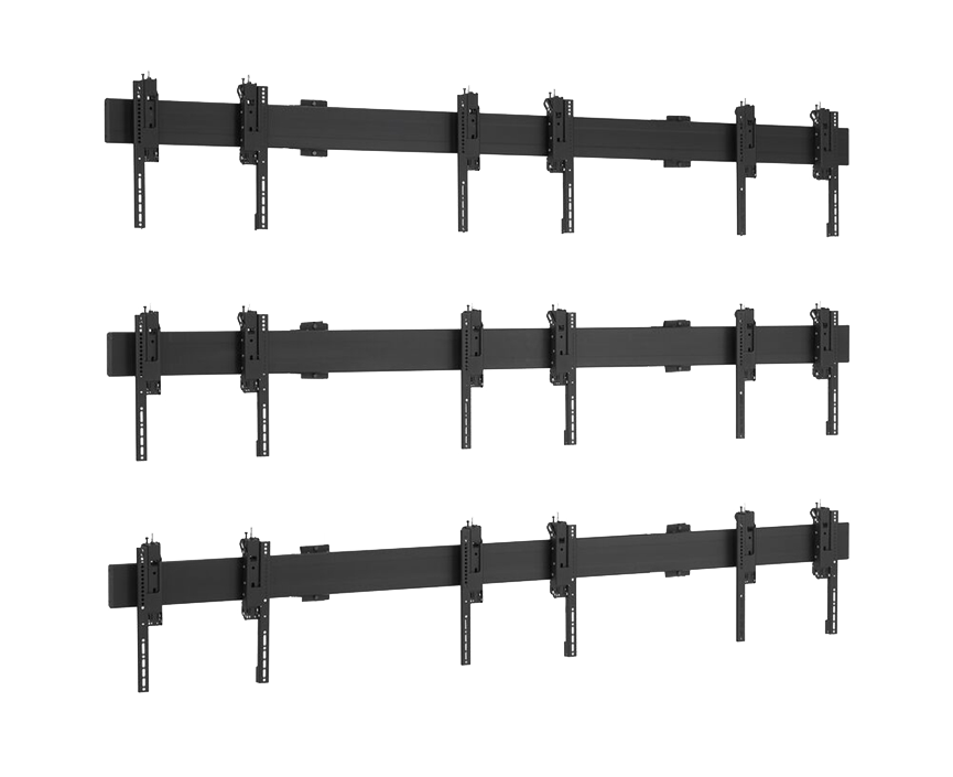 Soluzione universale per pareti video a soffitto 3x3