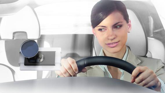 Secure phone in car