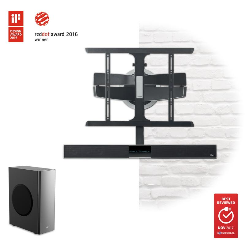 Vogel's MotionSoundMount - de elektrische TV beugel die automatisch met je meedraait