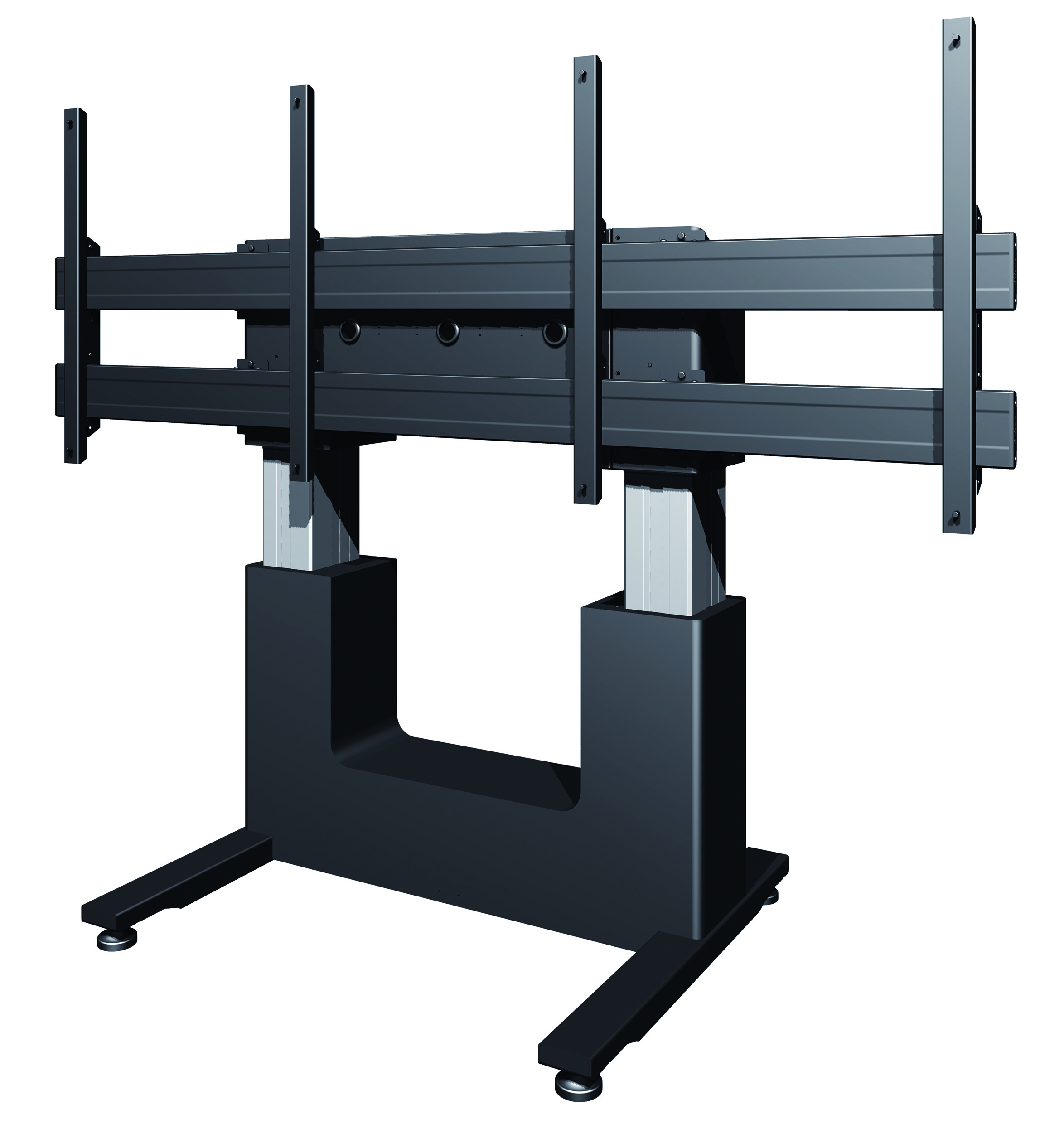 Motorized trolley for LED and LCD | Vogel's