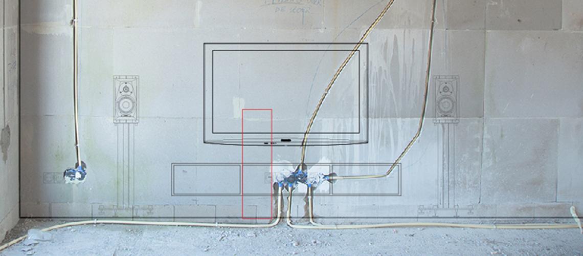 Kabels wegwerken | Vogel's kabel oplossing