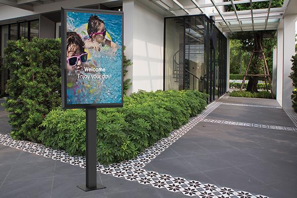 LG outdoor display   LG outdoor XE4F series  Vogel's