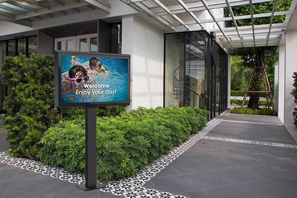 LG outdoor display | LG outdoor XE4F series | Vogel's
