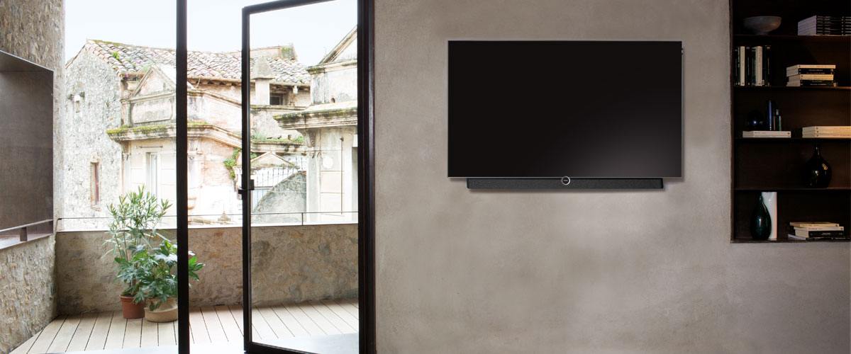 Innovative Vogel's wall mount for all Loewe BILD televisions | Vogel's