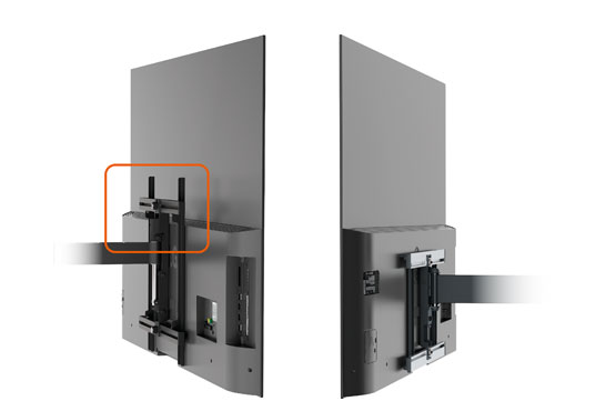 Vogel's OLED wall mounts, ideal for VESA 400 x 200 screens