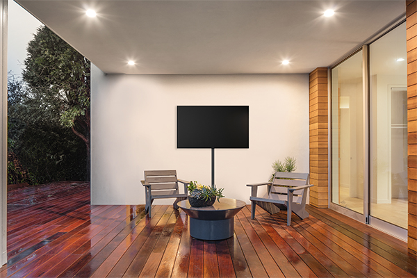 Vogel's | TV bracket | Cable covers | Watching TV outside