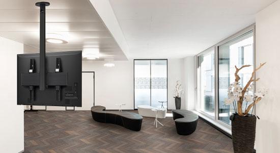 Gamme PUC 24 Supports plafond pour écrans | Vogel's