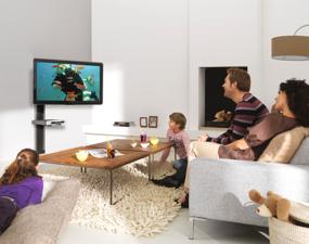 regarder la télévision ensemble