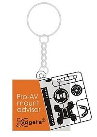 Vogel's Pro-AV Mount Advisor keychain