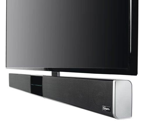 NEXT 8365 SoundMount de Vogel's, support TV mural avec barre de son intégrée