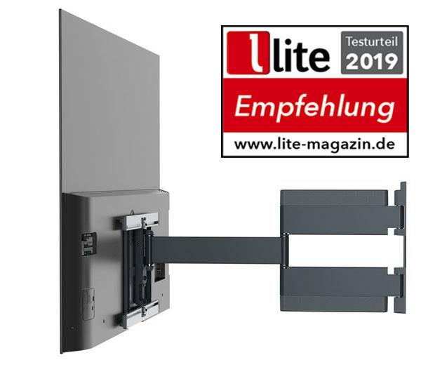 Testurteil lite-Magazin 2019 - THIN 546 OLED TV Wandhalterung