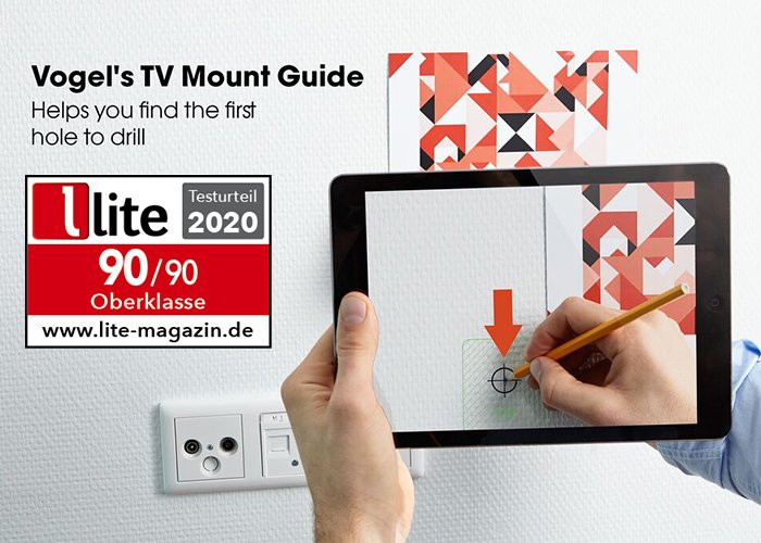 Tv Mount Guide app | Vogel's
