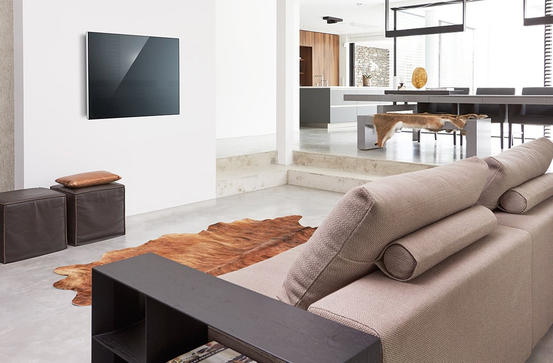 Vogel's OLED wall mounts, your thin TV flat against the wall